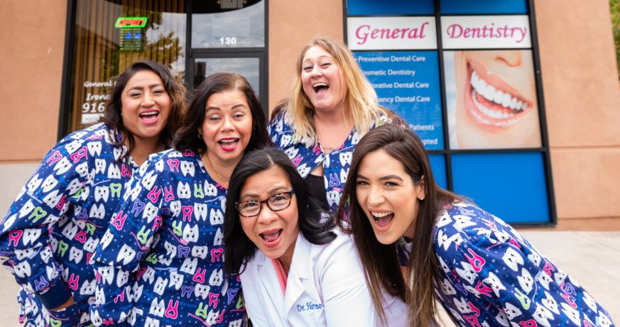 5 dentists at Tooth Spa Dentistry