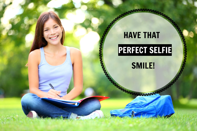 perfect your selfie smile
